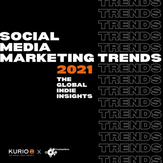 Social Media Marketing Trends 2021 – thenetworkone x kurio – share image