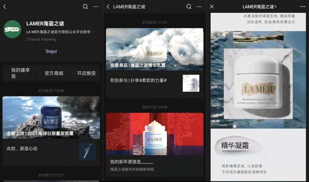 WeChat per le aziede - WeChat - La Mer - Hylink Italy
